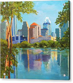 Austin Morning Acrylic Print