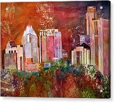 Austin Skyline IIi Acrylic Print