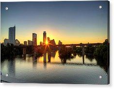 Austin Sunrise Acrylic Print