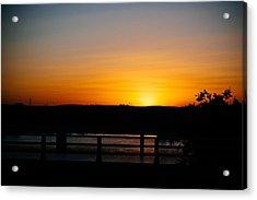 Austin Sunset Acrylic Print
