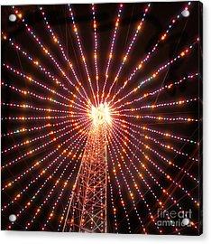 Austin Texas Trail Of Lights  Acrylic Print