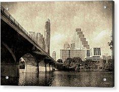 Austin Texas Vintage Acrylic Print