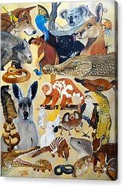 Australia Acrylic Print by Debbie LaFrance