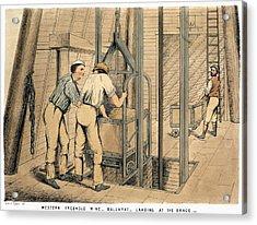 Australia Gold Mine, 1867 Acrylic Print by Granger