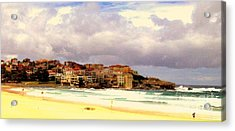 Australian Beach Scene Acrylic Print by John Potts