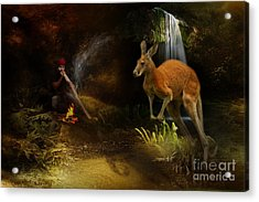 Australian Dreaming Acrylic Print