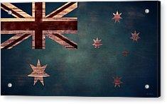 Australian Flag I Acrylic Print