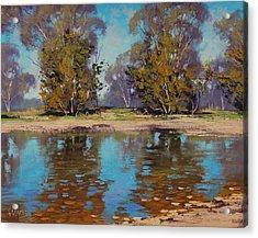 Australian River Acrylic Print by Graham Gercken