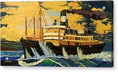 Australia's Titanic--the Ss Waratah Acrylic Print by Seth Wade