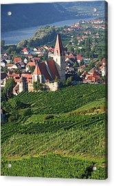 Austria, Wachau, Weissenkirchen, View Acrylic Print by Westend61