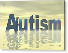 Autism Acrylic Print by Carol & Mike Werner