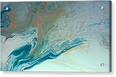Autistic Waves Acrylic Print by Sonya Wilson