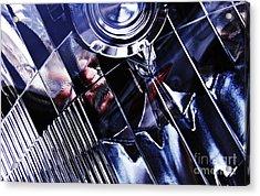 Auto Headlight 103 Acrylic Print by Sarah Loft