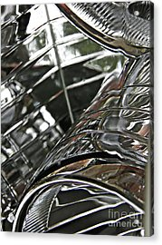 Auto Headlight 8 Acrylic Print by Sarah Loft