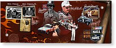 Auto Racing Hall Of Fame First Class Acrylic Print by Retro Images Archive