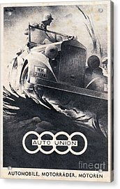Auto Union Acrylic Print