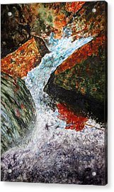 Autum Flow Acrylic Print by Enola McClincey