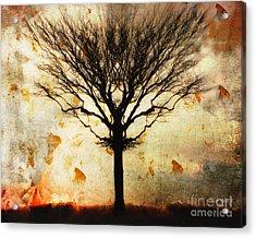 Autum Wind Acrylic Print