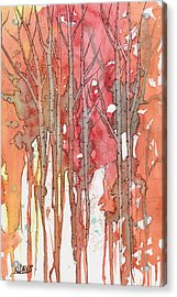 Autumn Abstract No.1 Acrylic Print