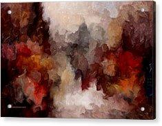 Autumn Abstract Acrylic Print