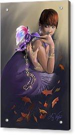 Autumn Allure Acrylic Print