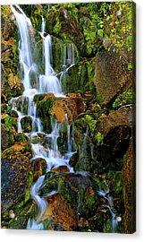 Autumn Along Summit Creek Acrylic Print