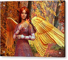 Autumn Angel 2 Acrylic Print