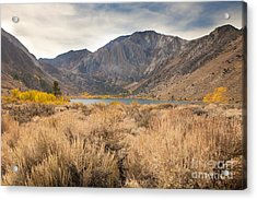Autumn At Convict Lake Acrylic Print by Sheri Van Wert