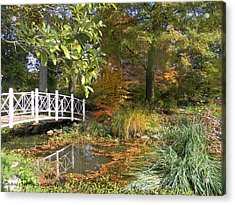 Autumn At Sayen Gardens Acrylic Print