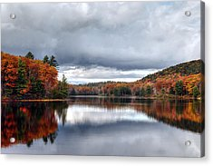 Autumn At Spectacle Pond Acrylic Print