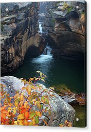 Autumn At The Grotto Acrylic Print