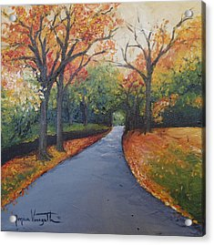Autumn At Woodlawn Acrylic Print by Monica Veraguth