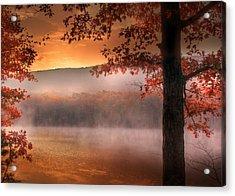 Autumn Atmosphere Acrylic Print by Lori Deiter
