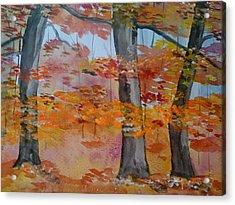 Autumn Beauty Acrylic Print by Judi Goodwin