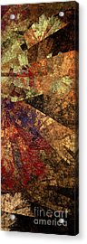Autumn Bend Acrylic Print by Andee Design