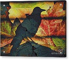 Autumn Bird Acrylic Print
