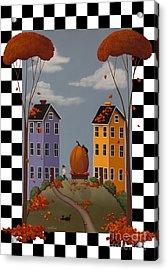 Autumn Blaze Acrylic Print by Catherine Holman