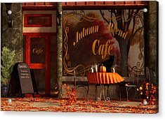 Autumn Blend Acrylic Print by Daniel Eskridge
