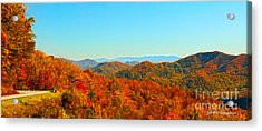 Autumn Blue Ridge Acrylic Print