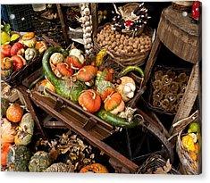 Autumn Bounty Acrylic Print by Rae Tucker