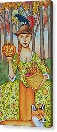 Autumn Colonial Acrylic Print