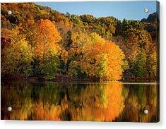 Autumn Color At Radnor Lake, Nashville Acrylic Print