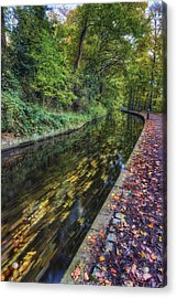 Autumn Colours Passing Acrylic Print by Ian Mitchell