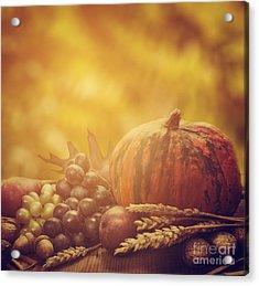 Autumn Concept Acrylic Print
