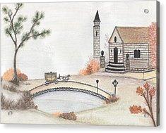 Autumn Countryside   Acrylic Print by Christine Corretti