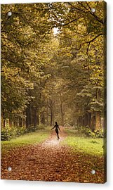 Autumn Dance Acrylic Print
