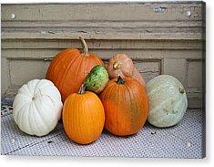 Autumn Days Acrylic Print by Paulette Thomas