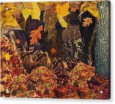 Autumn Acrylic Print by Denise Mazzocco