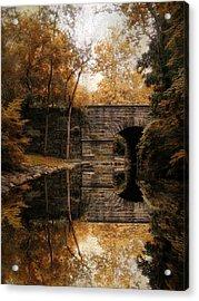 Autumn Echo Acrylic Print by Jessica Jenney