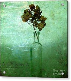 Autumn Acrylic Print by Elena Nosyreva